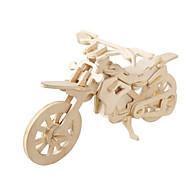 billige Legetøj og hobbyartikler-3D-puslespil Puslespil Træmodeller Luftfartøj Motorcykel Berømt bygning Arkitektur 3D GDS Kort Papir Træ Klassisk SUV Unisex Gave