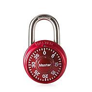 Master-Sperre 1530 Passwort-Sperre 3-stelliges Passwort Türschloss Dail Lock und Passwort-Sperre