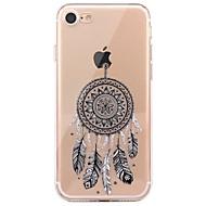 Taske til iphone 7 6 dream catcher tpu blød ultra-tynd bagcover case cover iphone 7 plus 6 6s plus se 5s 5 5c 4s 4