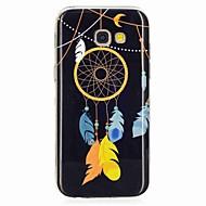 Недорогие Чехлы и кейсы для Galaxy A3(2017)-Кейс для Назначение SSamsung Galaxy A5(2017) A3(2017) Сияние в темноте С узором Кейс на заднюю панель Ловец снов Мягкий ТПУ для A3 (2017)
