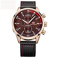 Муж. Спортивные часы Армейские часы Нарядные часы Модные часы Наручные часы Часы-браслет Повседневные часы Японский Кварцевый Календарь