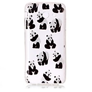 Чехол для samsung galaxy j3 (2017) j3 чехол для кейса panda рисунок высокий прозрачный tpu материал imd craft chiffon phone case j7 perx