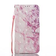 Для samsung galaxy s8 s8 плюс чехол для крышки розовый мраморный узор 3d окрашенная карта стент кошелек телефон чехол для галактики s7 s7
