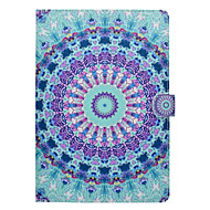 Geval voor appel ipad pro 10.5 9.7''dek kaarthouder met tribune patroon vol body case mandala hard pu leer ipad (2017) 2 3 4 air 2 air