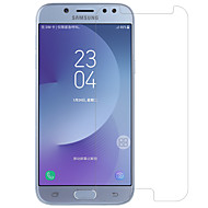 PET Krasbestendig Anti-vingerafdrukken High-Definition (HD) Spiegel Ultra dun Voorkant screenprotector Samsung Galaxy