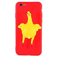 billige Nyheder-Taske til iphone 7 plus 7 squishy diy taske bagcover sag kylling æg 3d tegneserie blødt tpu tilfælde til iphone 6 6s 6 plus 6s plus