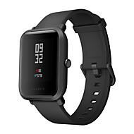 Недорогие Смарт-электроника-оригинальная xiaomi huami amazfit smartwatch глобальная версия ip68 водонепроницаемый монитор сердечного ритма с коронкой гориллы стеклянный экран