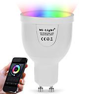 povoljno -BRELONG® 5W 500 lm GU10 Smart LED žarulje A60(A19) 12 LED diode SMD 5730 Infracrveni senzor Zatamnjen Na daljinsko upravljanje WIFI