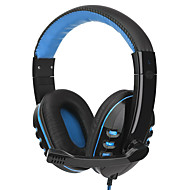 cheap Headsets & Headphones-Portable Gaming Headset with Microphone Super Bass Stereo Headphone Over-ear Earphone Wired Headphone for Computer Gamer