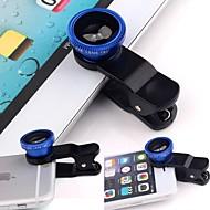 abordables Fotografía con Smartphone-Macro 10X 0.67X Gran angular Lente de la cámara Lens for Smartphone iPad Xiaomi Huawei Samsung iPhone