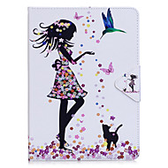 Cover for iPad 10.5 ipad 2017 flip full body case girl hard pu lær for pro 9,7 '' air 2 air 2.3.4 mini4 mini