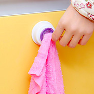 1Pc Washing Cloth Clip Hanger Sucker Holder Dishclout Storage Rack Bathroom Kitchen Storage Hand Towel Hook