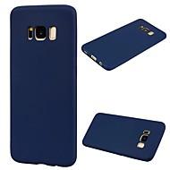 Кейс для Назначение SSamsung Galaxy S8 Plus S8 Ультратонкий Задняя крышка Сплошной цвет Мягкий TPU для S8 S8 Plus S7 edge S7 S6 edge S6
