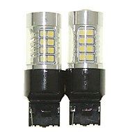 Недорогие Внешние огни для авто-SENCART 2pcs T20 (7440,7443) Автомобиль Лампы 36W SMD 3030 1500-1800lm Светодиодные лампы Внешние осветительные приборы