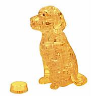 preiswerte Spielzeuge & Spiele-3D - Puzzle Holzpuzzle Kristallpuzzle Hunde Turm Pferd Bär Kunststoff Eisen Unisex Geschenk