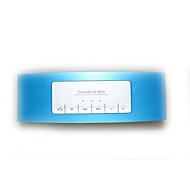 tanie Głośniki-Obuwie turystyczne Przenośny/a Stereo Wsparcie FM Bluetooth 2.1 3,5 mm AUX USB Bezprzewodowe głośniki Bluetooth Niebieski