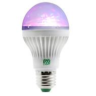 1W E27 Lâmpada Redonda LED 5 SMD 100-150 lm RGB 2800-3200/6000-6500 K AC 85-265 V