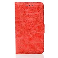 Кейс для Назначение SSamsung Galaxy J7 (2016) J5 (2016) Кошелек Бумажник для карт со стендом Флип Чехол Сплошной цвет Твердый