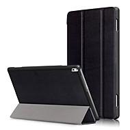 Capa de capa para lenovo tab4 guia 4 10 mais x704f tb-x704f tab4-x704n tb4-x704 com protetor de tela