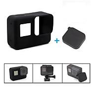 お買い得  Super Sale-ケース 蓋付き 耐摩耗性 傷つきにくい 伸縮性 ために アクションカメラ Gopro 5 カジュアル 日常使用 旅行 バックカントリー 屋外 プラスチック