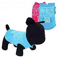 お買い得  -ネコ 犬 Tシャツ 犬用ウェア ハート Stars レッド ブルー テリレン コスチューム ペット用