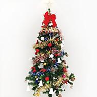 1pc 1.5 m / 150cm高級暗号化クリスマスツリー装飾リビングスイートホテルパッケージクリスマス新年gif