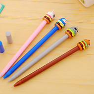 お買い得  ペン/鉛筆-12個/漫画の動物のケーキ黒インクのペンをセット