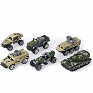 Voertuig Speelgoedauto's Legervoertuig Speeltjes Unisex Stuks