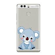tanie Etui na telefony-Obudowa dla huawei p8 lite2017 p10 pokrowiec przezroczysty pokrowiec koala soft tpu dla p10 lite p10 plus p9 plus p9 lite p9 p8 lite p8