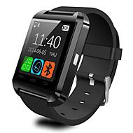 u8 smartwatch klocka bluetooth svar och ringa telefonen passometer inbrottslarm funcitons
