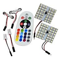 お買い得  -JIAWEN Festoon / T10 車載 電球 8W SMD 5050 インテリアライト