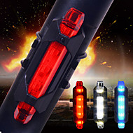 LED Light Bulbs Night Mountain LED Bicycle Tail Light USB Rechargeable Red Warning Light Bike Rear Safety Bicycle Lights