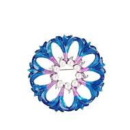 Жен. Броши Синтетический алмаз Цветочный дизайн Цветы Мода Гипоаллергенный Классика Цветочный принт Жемчуг Сплав В форме цветка Бижутерия