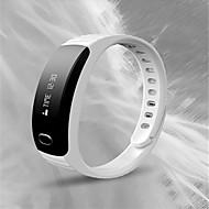 Heren Modieus horloge Rubber Band Zwart Wit