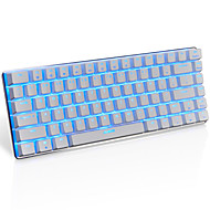 Ajazz ak33 gaming keyboard, 82 klassieke lay-out sleutels, transparante blauwe switch