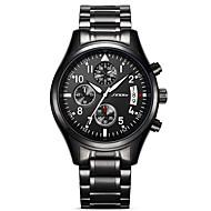 Недорогие Фирменные часы-SINOBI Муж. Кварцевый Имитационная Четырехугольник Часы Наручные часы Армейские часы Спортивные часы Японский Календарь Защита от влаги
