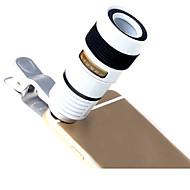 lentille de téléphone mobile à longue focale 8x téléphone portable lentille téléphone portable accessoires universels