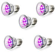 E14 GU10 E27 LED-kweeklampen 10 SMD 5730 165-190 lm Rood Blauw K V