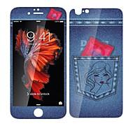 Недорогие Защитные плёнки для экрана iPhone-Защитная плёнка для экрана Apple для Закаленное стекло 1 ед. Защитная пленка на всё устройство Защитная пленка для экрана и задней панели
