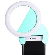 Lente del teléfono del cherllo s02l aluminio llevó el kit ligero de las lentes de la cámara del teléfono celular para los smartphones
