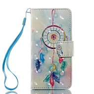 Case For Apple ipod touch 5 touch 6 Case Cover Card Holder Wallet with Stand Flip Pattern Full Body Case Dream Catcher Hard PU Leather