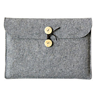 "abordables Accesorios de Portátil-Textura de lana Un Color Mangas Universal / Laptop de 13 """