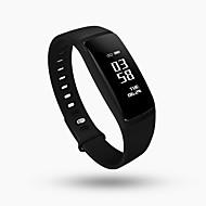 Недорогие Смарт-электроника-V07 Смарт Часы Android iOS Bluetooth Спорт Водонепроницаемый Пульсомер Измерение кровяного давления Сенсорный экран Датчик для отслеживания сна Найти мое устройство / Израсходовано калорий / 64MB