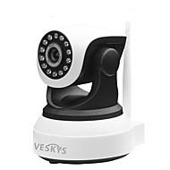 preiswerte -VESKYS 1,0 MP Innen with Day Night Primzahl 64(Eingebauter Lautsprecher Eingebautes Mikrofon Tag Nacht Bewegungserkennung Dual - Stream