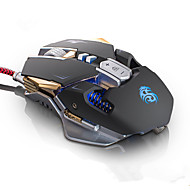 G10 Gaming Mouse Mice 9 Buttons 4 Colors With Light USB Wired Gamer Mouse Professional Optical Mice 4000 Adjustable DPI