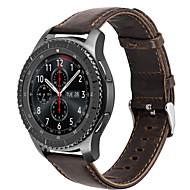 hoco samsung gear for s3 frontier classic strap 정품 가죽 밴드 시계 교체 smartwatch 손목 팔찌 밴드 22mm