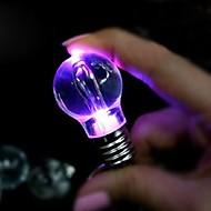 abordables Lámparas LED Novedosas-1 pieza Luz de noche LED Batería Decorativa LED