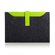 15 polegadas pacote de forro de computador laptop capa de lã de feltro de proteção