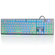 billige -A-jazz jjzs gaming keyboard mekanisk touch3-farge backlight19key anti-ghosting