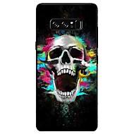 Capinha Para Samsung Galaxy NNote 8 Note 5 Estampada Capa Traseira Caveiras Macia TPU para Note 8 Note 5 Edge Note 5 Note 4 Note 3 Lite